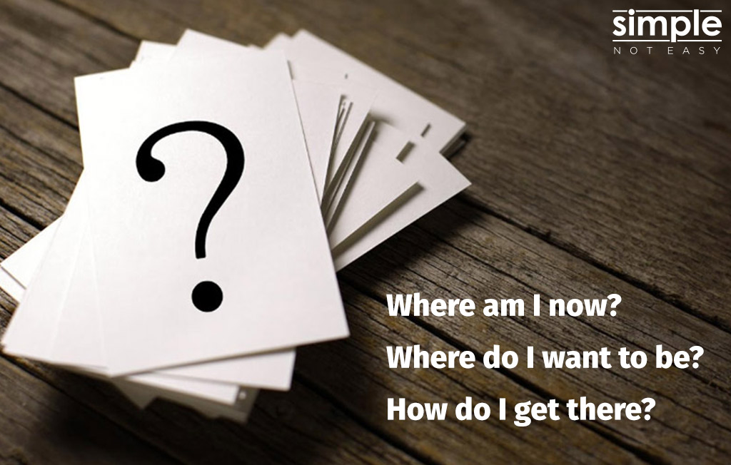 Simple. Not Easy. Questions.